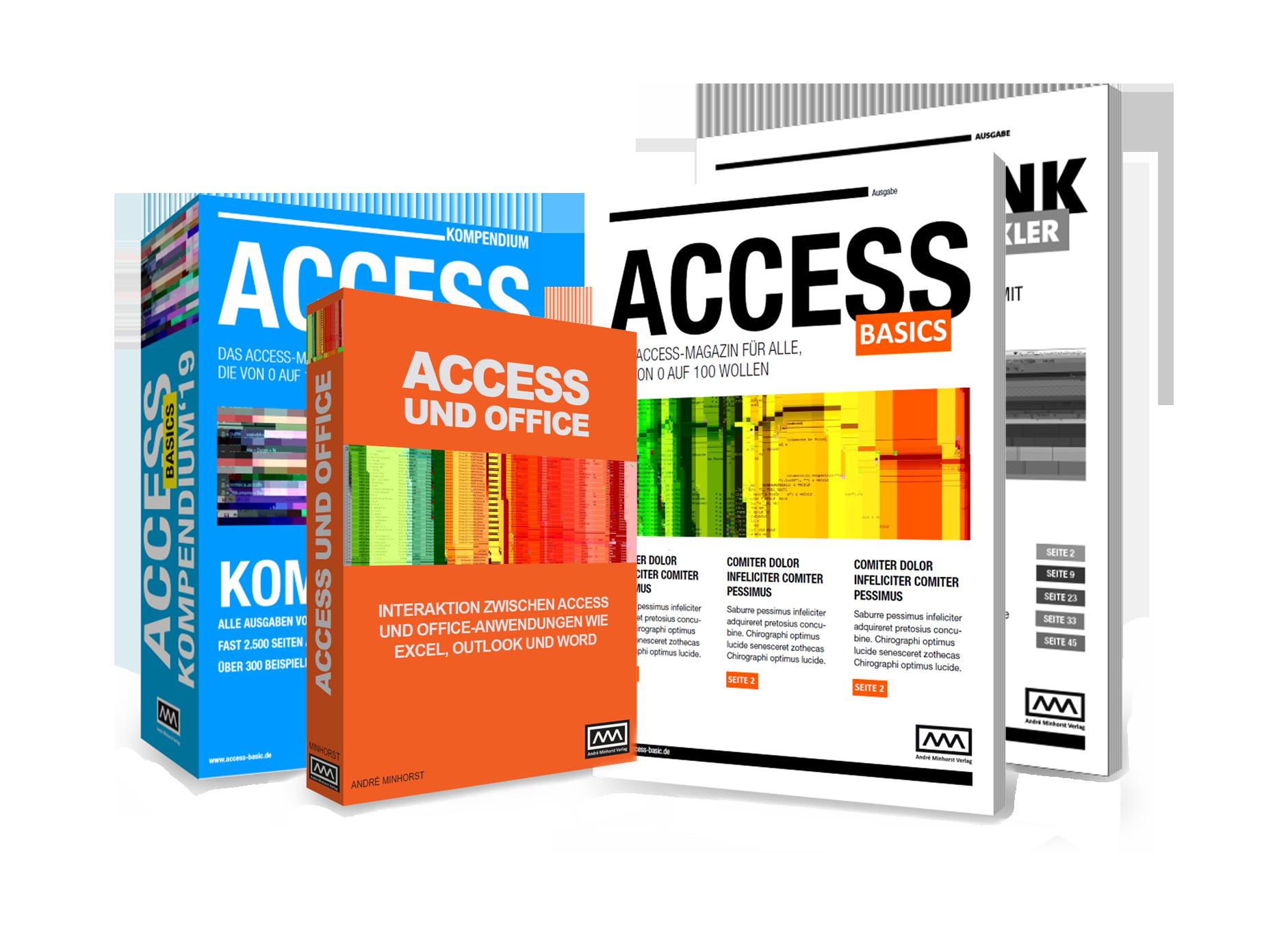 Access Shop Produkte